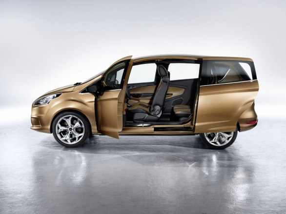 Ford b max concept for C max porte coulissante