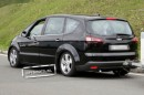 Ford S-Max Restyling foto spia