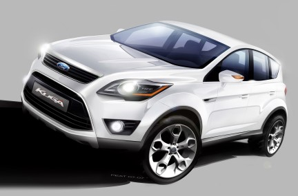 Ford Kuga - preview