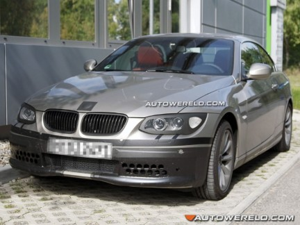 foto spia Bmw Serie 3 Cabriolet restyling