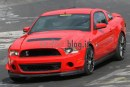 foto spia Ford Mustang Shelby