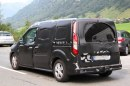 Foto spia Ford Transit Connect
