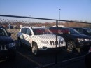Foto spia Jeep Compass restyling
