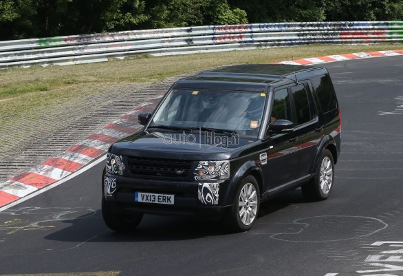 foto spia Land Rover Discovery restyling
