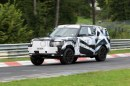Foto spia Land Rover Range Rover