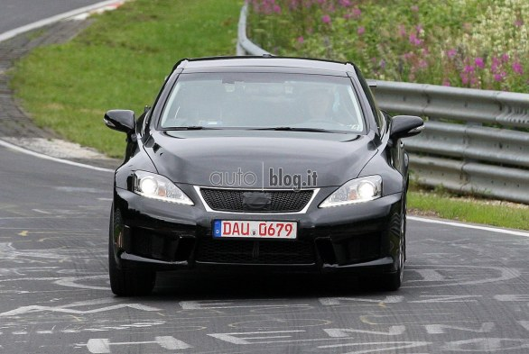 foto spia Lexus IS-F Convertibile