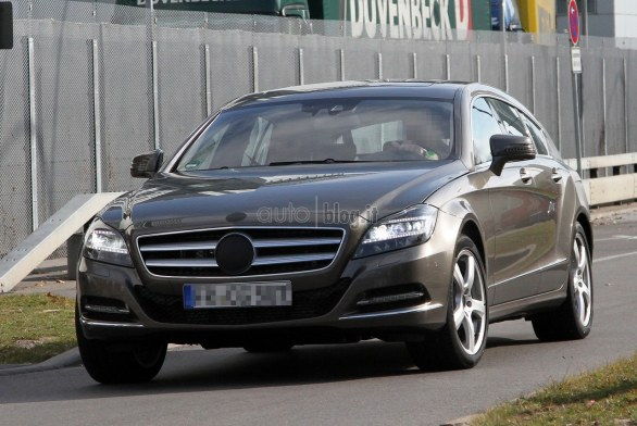 Foto Spia Mercedes CLS Shooting Brake