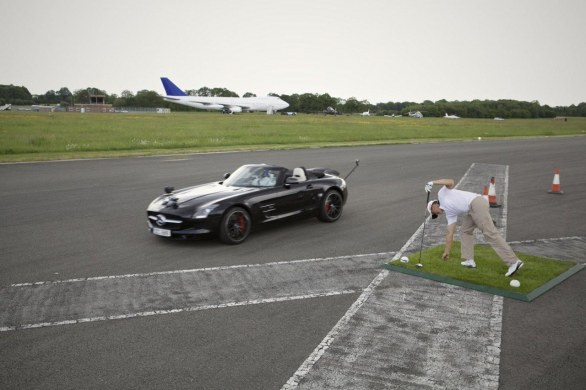 Guinness World Record Mercedes SLS AMG Roadster