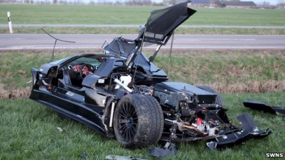 Gumpert Apollo: spaventoso incidente per un esemplare in Germania