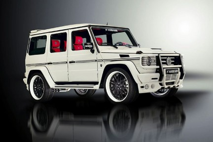 hamann typhoon non c 39 rispetto nemmeno per la mercedes classe g. Black Bedroom Furniture Sets. Home Design Ideas