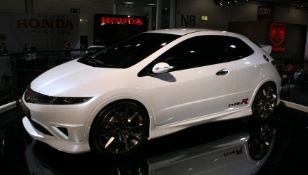 Honda Civic Type-r al british International Motor Show 2006