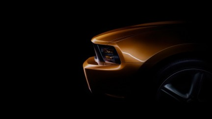 I teaser della Ford Mustang restyling