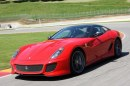incidente Ferrari 599 GTO