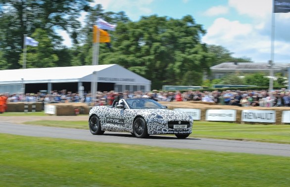 Jaguar F-Type al Festival of Speed di Goodwood