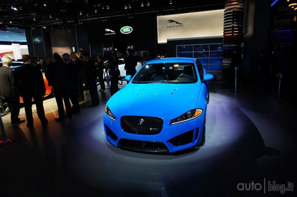Jaguar XFR-S: live dal Salone di Los Angeles 2012