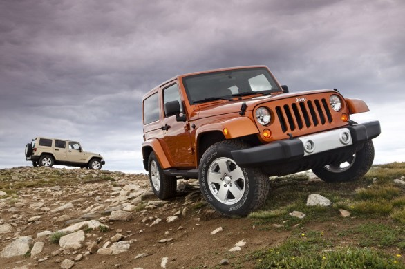 Jeep Wrangler Model Year 2011