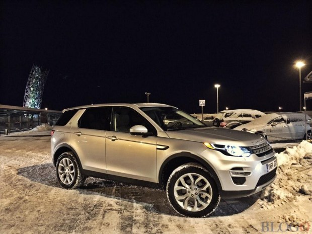 Land Rover Discovery Sport: foto live