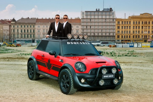 Life Ball MINI 2011 by DSQUARED²