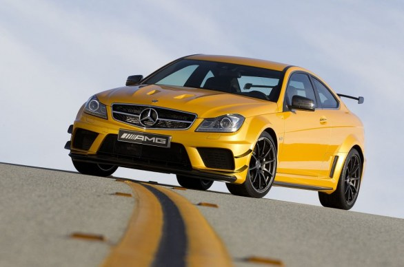 Mercedes C 63 AMG Coupé Black Series Track Pack
