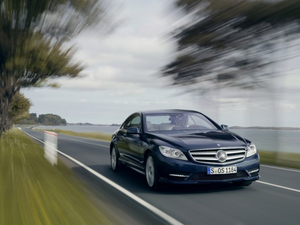 Mercedes CL restyling