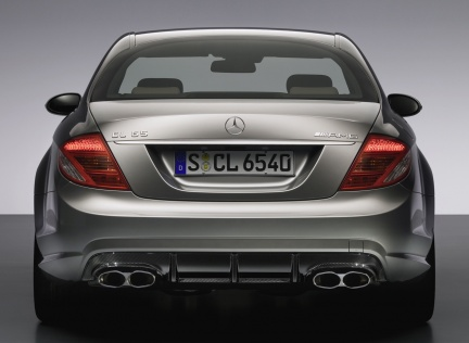 Mercedes cl 65 amg v12 foto ufficiali for Mercedes benz cl65 amg coupe