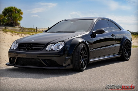 Mercedes CLK 63 AMG Black Series RennTech