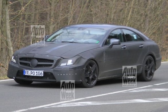 Mercedes CLS 63 AMG: nuove foto spia