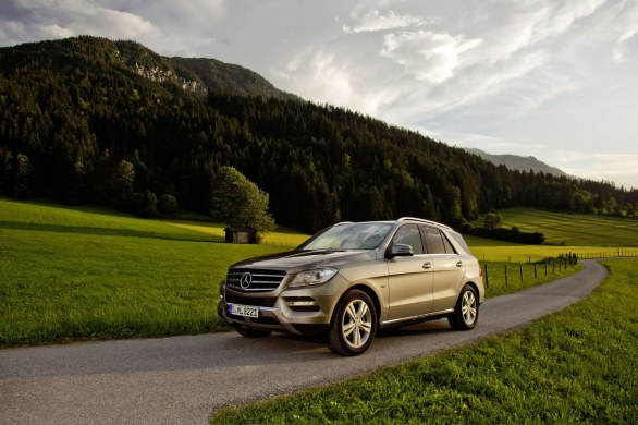 Mercedes ML 500 4MATIC BlueEFFICIENCY