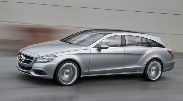 Mercedes shooting break concept salone di pechino 2010 for Mercedes benz cls station wagon