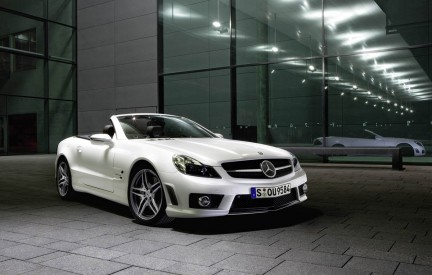 Mercedes SL63 IWC Edition