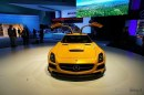 Mercedes SLS AMG Black Series al Salone di Los Angeles 2012 Live