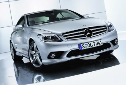 Mercedes CL AMG styling