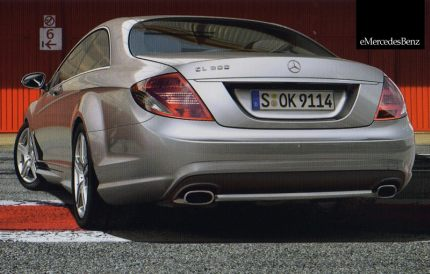 Mercedes Classe CL - pack AMG