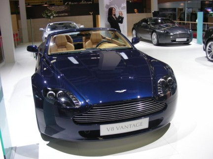 Motor Show Live 2008: lo stand Aston Martin
