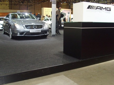 Motor Show Live 2008: lo stand Mercedes
