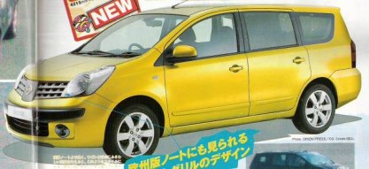 Nissan Note Maxi