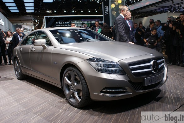 Mercedes CLS 63 AMG: debutto al Salone di Los Angeles?