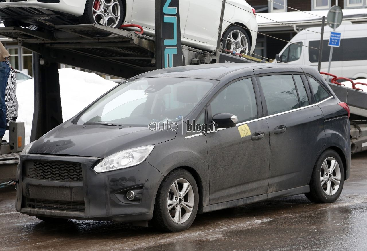 2014 - [Ford] C-Max Restylé - Page 2 Spyshots-2015-ford-c-max-05