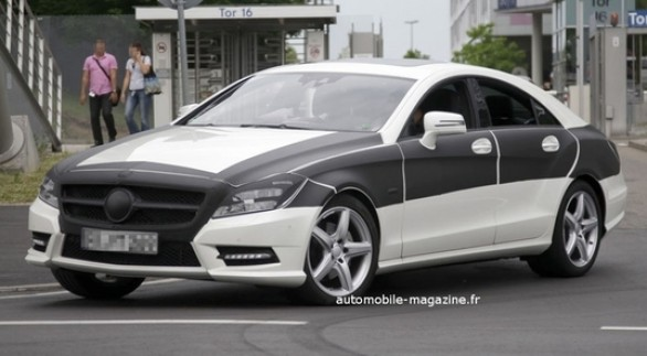Nuove foto spia Mercedes CLS