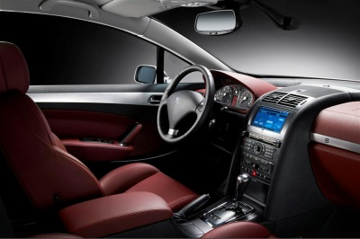 Peugeot 407 coup for Interior 407 coupe