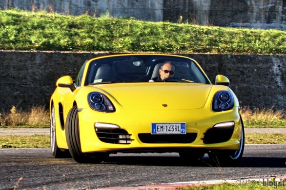 video test Porsche Boxter S PDK  2013 in pista