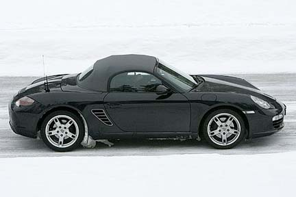 porsche boxster 987 restyling facelift