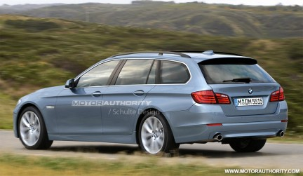 Render BMW Serie 5 Touring F11
