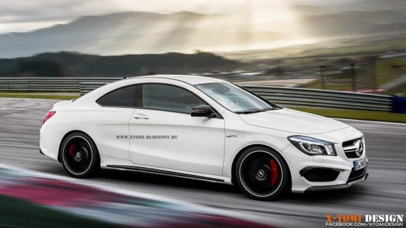 Render Mercedes CLA 45 AMG Coup�¨