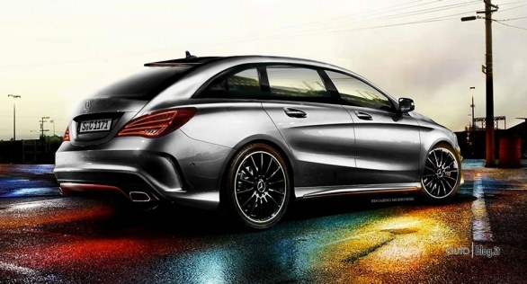 Render Mercedes CLA Shooting Brake