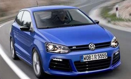 volkswagen polo r in arrivo nel 2012. Black Bedroom Furniture Sets. Home Design Ideas