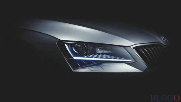Skoda Superb 2015 Teaser