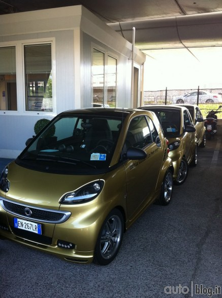 Smart ForTwo Coupè Brabus 2012