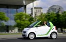 Smart fortwo electric drive Berlino official