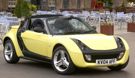 Smart Roadster Yellow